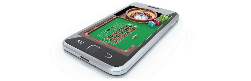 Roulette spelen op de mobiel
