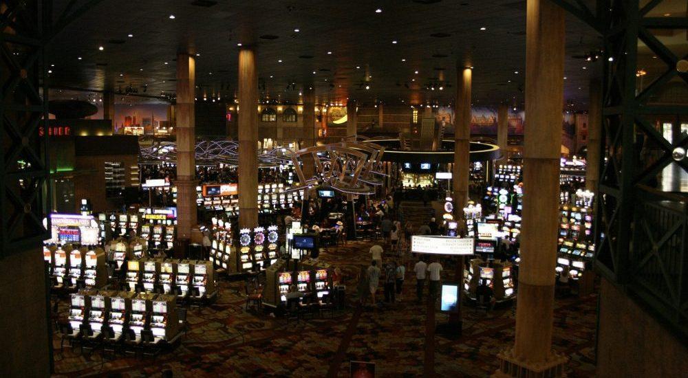 Fruitautomaten in een echte casino